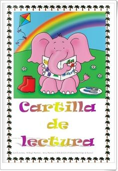 """Cover of """"Cartilla lectura"""" Web Gallery, Art Inspiration Drawing, Dual Language, Learn To Read, Literacy, Homeschool, Author, Activities, Learning"""