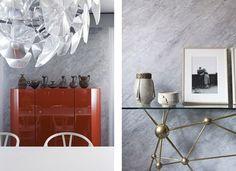 wall treatment  Casa em Milão | Fabrizio Bartolomeo e Lucas Fernandez