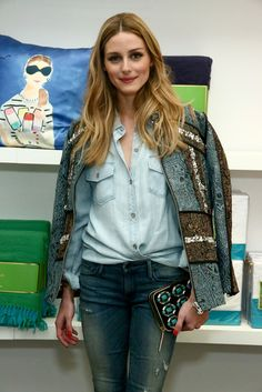 olivia palermo at the kate spade new york home pop-up housewarming #makeyourselfahome