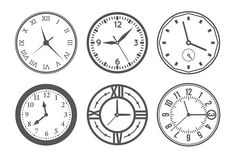 Wall clock icons