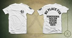 """Image of H&P T-Shirt - """"No Place For"""""""