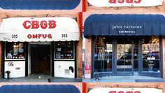 New York's Changing Storefronts