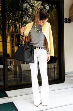 Style Tips   Pantalones blancos y cómo usarlos en verano   FashionBloggers