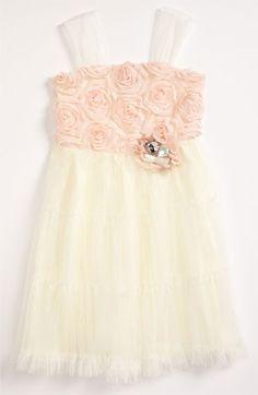 Little girls flower girl dress