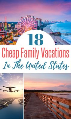 These Cheap Family Vacation Destinations in the US May Surprise You! Are you looking for an affordable family vacation in the US. These 18 cheap family vacations are just what you need if you are looking to travel in America on a budget. Affordable Family Vacations, Vacations In The Us, Best Family Vacations, Family Vacation Destinations, Top Travel Destinations, Vacation Trips, Vacation Spots, Family Travel, Vacation Ideas