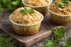 muffini s tikvicama i sirom Cheese And Bacon Muffins, Savory Muffins, Tea Recipes, Muffin Recipes, Baby Food Recipes, Zucchini Cheese, Homemade Muffins, Yummy Snacks, Kids Meals