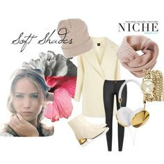 """Soft Shades"" by niche-magazine on Polyvore"