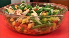 Looking for a healthy side dish? Try this three bean salad!