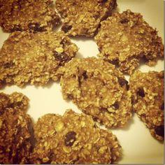 Healthy 4 ingredient oatmeal rasin cookies #food #recipes