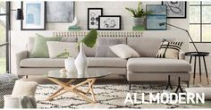 Shop AllModern for everything to fit your modern lifestyle - From furniture and lighting to accents, décor and more, with Free Shipping on most items.