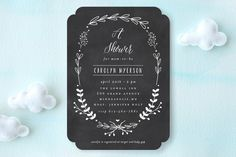 The Meadow Baby Shower Invitations by Susan Brown at minted.com