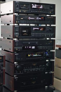 Home Theater Sound System, Home Theatre Sound, Hifi Music System, Audio System, Hifi Stereo, Hifi Audio, Mc Intosh, Retro, Sound Room