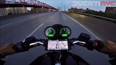Night Ride Through NEW YORK from Spiegel's Two Wheeled Tuesday v486