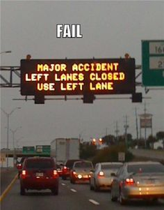 Traffic Sign Fail