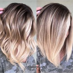 Ombre Do you prefer wavy 〰️ or straight ➖? Debate below 👇 Alpingo Balayage , Do you prefer wavy 〰️ or straight ➖? Debate below 👇 Do you prefer wavy 〰️ or straight ➖? Debate below 👇 . Balayage Straight Hair, Short Straight Hair, Hair Color Balayage, Straight Hairstyles, Cool Hairstyles, Celebrity Hairstyles, Short Haircuts, Blonde Balayage Mid Length, Baylage Short Hair