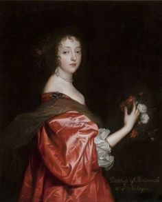 Catherine Howard (d.1650), Lady d'Aubigny by Anthony van Dyck