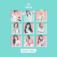 TWICE CHEER UP (PAGE TWO) album cover by LEAlbum   Cheer up. Album covers. Twice album