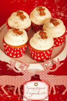 Gingerbread Cupcakes Création : LITTLE - Petits Gâteaux Crédit Photo : Julie Marie Gene Graphisme : Solenn As Sweet