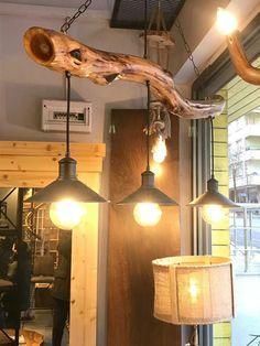 Driftwood Chandelier, Chandelier Lighting, Rustic Chandelier, Farmhouse Lighting, Rustic Lighting, Deco Luminaire, Live Edge Wood, Wooden Lamp, Ceiling Design
