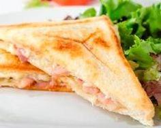 Croque-Monsieur au fromage de chèvre (facile, rapide) - Une recette CuisineAZ