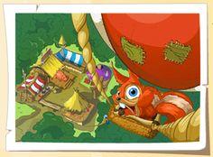 Galia z lotu balona :) Więcej do zobaczenia w Wesołej na NK http://nk.pl/aplikacje/WesolaOsada lub GG http://beta.gg.pl/#app/wesolaosada :)