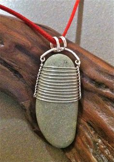 Items similar to Wire Wrapped Lake Michigan Beach Stone on Etsy Rock Jewelry, Sea Glass Jewelry, Copper Jewelry, Stone Jewelry, Wire Jewelry, Pendant Jewelry, Jewelry Crafts, Jewelry Art, Beaded Jewelry