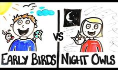 Are You An Early Riser Or Night Owl? - #science #education #sleep