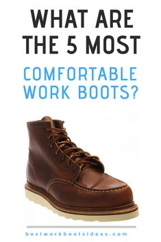 Read our regularly updated buying guides and reviews on the most comfortable work boots.    Whether you are looking for steel Toe, waterproof, slip on or whether you work in various industries such as construction, we try and give you (our reader) the best information available.    Please visit the site and check our latest deals and promotions.   #workboots #steeltoe #mensfashion #workshoes #redwingheritage #ariat #timberlandbootsformen #timberlandboots #mensfashion Most Comfortable Work Boots, Steel Toe Work Boots, Timberland Boots, Hiking Boots, Slip On, Construction, Mens Fashion, Check, Shoes