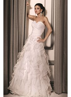 Fascinating A-line Sweetheart Floor-length Chiffon White Prom Dresses
