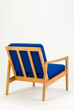 Hans Olsen; Oak Armchair for C.S. Møbler, c1960.