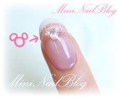 Hidden Mickey Bling - perfect manicure for a Disney Wedding  @Jamie Wise Wise Wise Hiller