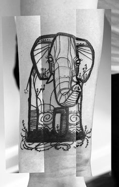 Everytime i see an elephant, I think of My cousin. I think, this will be inspiration for the tattoo to represent her. <3
