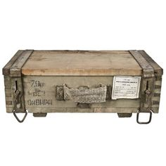 Cold War Russian Ammo Crate, $135, now featured on Fab.