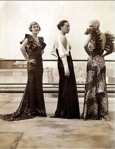 1930s fashion - i love how these styles are coming back!!!!