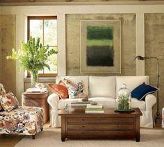Pottery Barn - Living Room Ideas