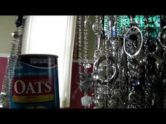 Twirl-a-Tie/Oatmeal container Necklace Holder - $5 Paparazzi Accessories