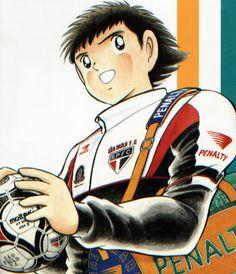 Captain Tsubasa, Soccer Art, Football Art, Football Jerseys, Manga Anime, Anime Art, Super Anime, Super Mario World, Anime Comics