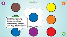 A free iTunes app to build visual discrimination skills. Educational Activities, Learning Activities, Activities For Kids, Visually Impaired Activities, Therapy Games, Speech Therapy, Teaching Technology, Assistive Technology, School Ot