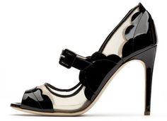 The ultimate business professional non-platform peep toe sandal!