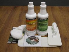 Get your laminate floors looking like new again!  Restoration Kit giveaway from LamanatorPlus over at The Funky Monkey! Giveaway ends 3/2/13.