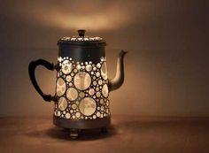 Cute little teapot light