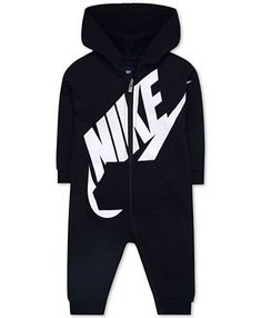 Baby Boys and Girls Play All Day Hooded Coverall - Baby outfits - Baby Baby Boy Clothes Nike, Baby Boy Nike, Baby Boy Swag, Cute Baby Boy Outfits, Baby Nike Outfits, Babies Clothes, Baby Boy Jordan Outfits, Designer Baby Boy Clothes, 70s Outfits
