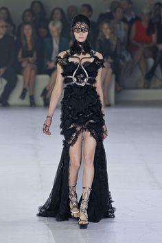Alexander McQueen Spring 2012 - McQueen the Dream. #fashion