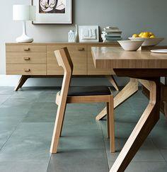 Cross Extending Table by Matthew Hilton