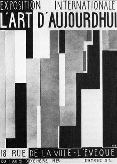 """""""Exposition Internationale L'Art d'Aujourd'hui"""" Paris 1925"""