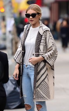The Celeb-Approved Coat From Tory Burch Is Majorly Marked Down via @WhoWhatWearUK