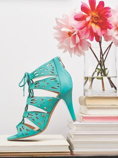 Add an unexpected pop of color to your #ootd with our Lace It Up Fashion Sandal!