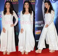 Really want a plain white anarkali
