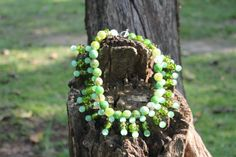 green agate necklace Green Agate, Agate Necklace