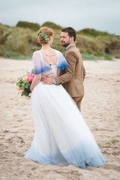 Seashells & Succulents: A Boho Luxe Beach Elopement Shoot! http://www.wantthatwedding.co.uk/2017/11/12/seashells-succulents-a-boho-luxe-beach-elopement-shoot/?utm_campaign=coschedule&utm_source=pinterest&utm_medium=Want%20That%20Wedding&utm_content=Seashells%20and%20Succulents%3A%20A%20Boho%20Luxe%20Beach%20Elopement%20Shoot%21  Credits: Photographer 1 & Styling: Catherine Kerr / Photographer 2 & Location Scout: Gill Haves / Location: Bamburgh Beach in Northumberland / Venue for Preps: Celia…
